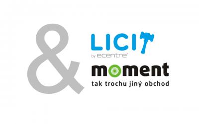 """Komunita LICIT vyhlašuje dobročinnou sbírku """"S LICITEM na moment"""""""