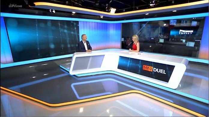 Z MÉDIÍ: LICIT v Mini duelu TV PRIMA (Zdroj: TV Prima)